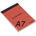 Litet block linjerat- A7